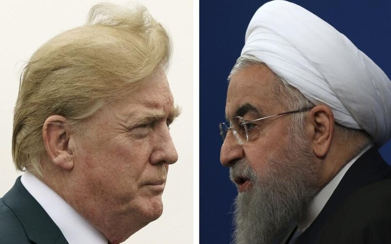 Trump le dice a Irán que no amenace más a EE UU